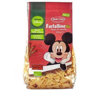 Макаронные изделия Dalla Costa Disney Mickey Mouse Farfalline Bio (с 3-х лет)