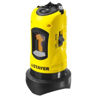 Лазерный уровень STAYER LASERMAX MASTER (34960-H2) со штативом