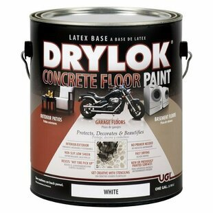 Краска латексная UGL DRYLOK Latex Concrete Floor Paint