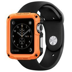 Чехол для Apple Watch 42мм Spigen Tough Armor (SGP11503) (оранжевый)