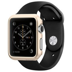 Клип-кейс для Apple Watch 42мм Spigen Thin Fit (SGP11501) (шампань)