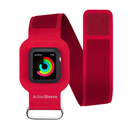 Чехол для Apple Watch 42мм Twelve South Action Sleeve Armband (12-1705) (красный)