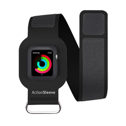 Чехол для Apple Watch 42мм Twelve South Action Sleeve Armband (12-1702) (черный)